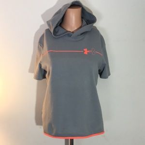 Youth Girls Under Armour Hooded Top
